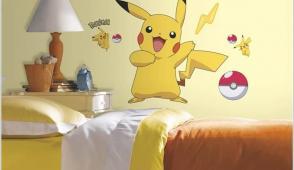Thiết kế phòng ngủ dễ thương với Pokémon cho bé