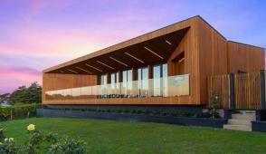 Kiến trúc hình phễu độc đáo của ngôi nhà ở Úc