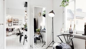 Thiết kế nội thất hiện đại của căn hộ 45m2