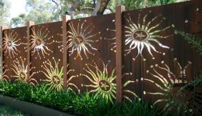 Mẫu thiết kế hàng rào đẹp như tranh vẽ