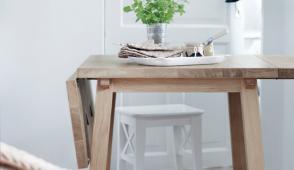 Những mẫu bàn ăn ứng dụng cho nhà chật