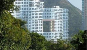 Hồng Kông: Bí ẩn đằng sau những tòa cao ốc có lỗ thủng ở giữa