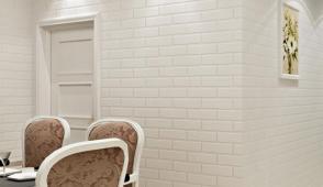 Xu hướng trang trí tường bằng xốp giả gạch 3D