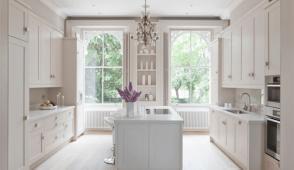 Lý do không nên sơn toàn bộ căn bếp màu trắng