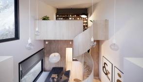Ngôi nhà nhỏ trên vách đá Nestinbox