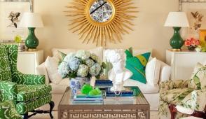 Ý tưởng trang trí phòng khách nhỏ đẹp đón thu