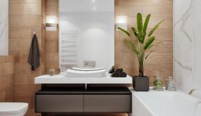 Một số lưu ý khi thiết kế phòng tắm trong phòng ngủ