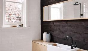 Ý tưởng giúp phòng tắm nhỏ trở nên thông thoáng