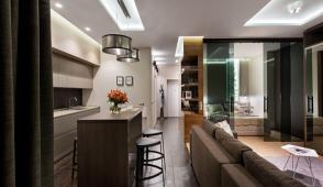 Ngắm căn hộ 51m2 được thiết kế sang trọng