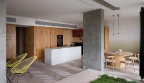 Thiết kế căn hộ một phòng ngủ hiện đại
