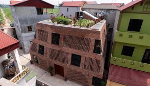 Thiết kế ngôi nhà gạch chống nóng hiệu quả
