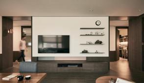 Căn hộ yêu chiều nội thất gỗ của đôi vợ chồng trẻ
