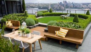Một vài ý tưởng hay ho cho khu vườn trên sân thượng