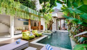 Biệt thự nghỉ dưỡng phong cách nhiệt đới đẹp mê mẩn ở Bali