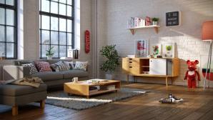 Mẫu phòng khách hiện đại hợp với chung cư