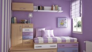 Cách bố trí đồ đạc cho phòng ngủ chật hẹp