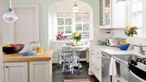 8 mẫu căn bếp màu xanh nhìn thấy đã thích