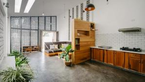 Căn nhà ở Kon Tum có thiết kế sâu độc đáo