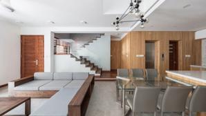 Thiết kế căn nhà 68m2 ở Hà Nội tiện nghi, hiện đại