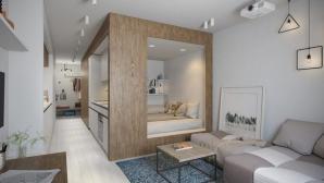 Thiết kế nội thất căn hộ 30m2 dành cho người độc thân