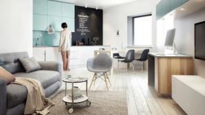 Ngắm căn hộ nhỏ 64m2 được thiết kế thông minh