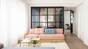 Căn hộ ngọt ngào với tông màu hồng pastel