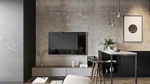 Thiết kế căn hộ 60m2 hiện đại, sang trọng