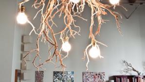Những mẫu đèn chùm trang trí trong phòng khách