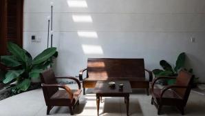 Ngôi nhà kết hợp kiến trúc truyền thống và hiện đại