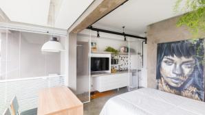 Học cách phân chia không gian thông minh trong căn hộ 24m2