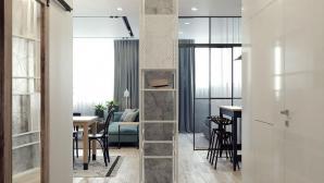 Thiết kế tinh tế từng chi tiết của căn hộ một phòng ngủ