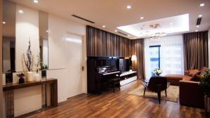 Căn hộ 150m2 đẹp như khách sạn ở Hà Nội
