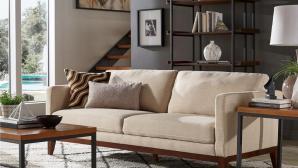 12 mẫu ghế sofa bọc vải đơn giản nhưng sang trọng cho phòng khách