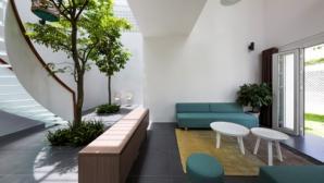 Nhà không tường ngăn giản dị mà cuốn hút