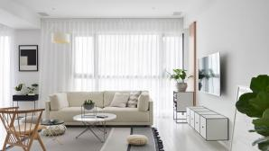 Căn hộ phong cách Scandinavian với nội thất trắng đen tuyệt đẹp