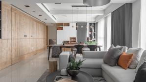 Tủ âm tường bằng gỗ hoặc kính giúp căn hộ nhỏ hẹp vừa sang trọng vừa rộng rãi
