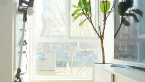 Nội thất màu trắng tạo vẻ đẹp bất ngờ cho căn hộ 40 m2
