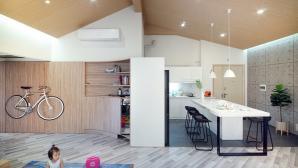 Hô biến căn hộ ở Hà Nội thành nhà 2 tầng tiện nghi