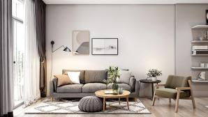 Vẻ đẹp sang trọng khó tin của căn hộ 30m2 dù nội thất cực đơn giản