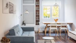Những mẫu thiết kế phòng khách kết hợp phòng ăn dễ ứng dụng