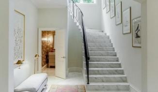 Những điều cần biết khi thiết kế cầu thang bằng đá hoa cương