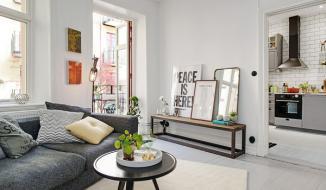 Thiết kế căn hộ 30m2 đẹp hiện đại