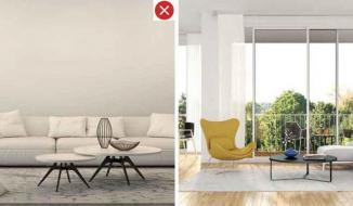 Những lỗi sai và giải pháp khắc phục khi trang trí phòng khách