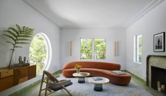 Những ô cửa sổ hình tròn trang trí nhà tuyệt đẹp