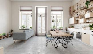 Thiết kế căn hộ 25m2 theo phong cách Scandinavian