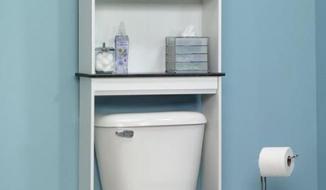 Mẹo giúp nhà tắm siêu nhỏ chứa được nhiều đồ