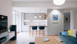 Nội thất đơn giản, tinh tế trong ngôi nhà của cặp vợ chồng trẻ