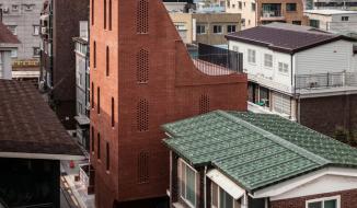Ngôi nhà 5 tầng có kiến trúc như chiếc đàn dương cầm ở Hàn Quốc