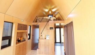 Ngôi nhà 20 m2 nhỏ xinh giữa đồng cỏ ở Hàn Quốc
