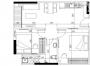 Tư vấn bố trí nội thất siêu hợp lý cho căn hộ 49 m2